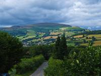 View Across Black mountains