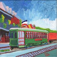 trolly Art Prints & Posters by Tica McGarity
