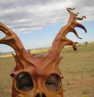Stag Man in the Desert