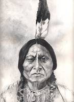 Native American Indian,Sitting Bull