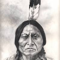 """Native American Indian,Sitting Bull"" by Texaslady"