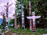 Stanley Park Totems