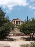 Temple from the Ancient Agora