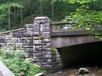 Bridge in Pisgah National Forest