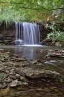 Brouilletts Creek Waterfall #3 by Jeff VanDyke