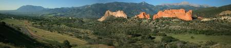Garden of the Gods - Panorama