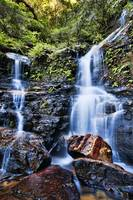Lodore Falls - (Wentworth Falls) Blue Mountains NS