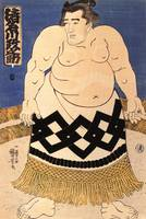 Kuniyoshi The Sumo Wrestler
