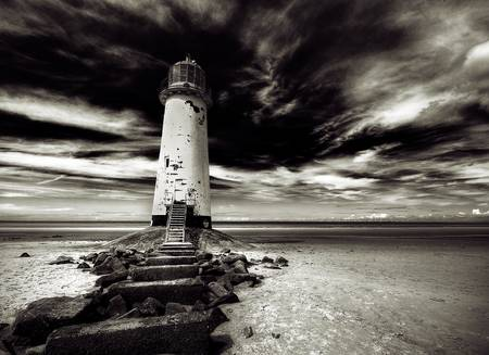 Talacre Lighthouse 2265 by Colin Ashworth