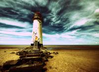 Talacre Lighthouse 2265 cross processed