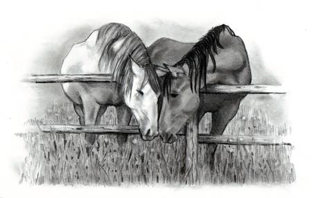 Horse Lovers by Joyce Geleynse