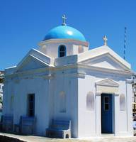 Church of Mykonos Island Greece