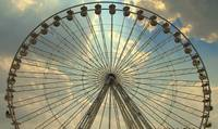 Ferris wheel at the Tuileries, Paris, France
