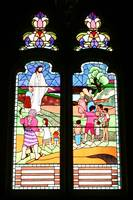 stained glass- st greoge's