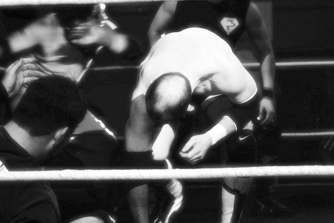 wrestling at the fat cat