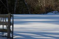 Fence/Shadow patterns on snow