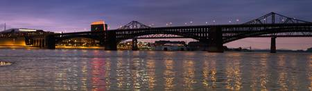 Eads Bridge in Twilight