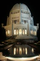 Bahai Temple at Night - Wilmette, IL