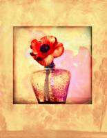 large size poppy painting print wth border final