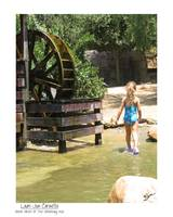 Water Wheel - Girl At The Watering Hole