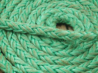 Coiled Green Rope