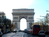 Arc De Triamph Motion Blur