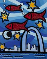 Red Fish Blue Arch