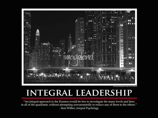 Integral Leadership #3