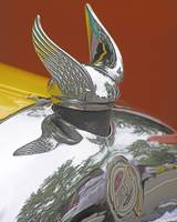 Late 20s Chrysler Chrome Winged Radiator Cap