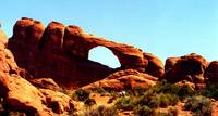 Arches National Park - redrock and arch2