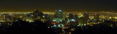 Downtown El Paso, TX at Night
