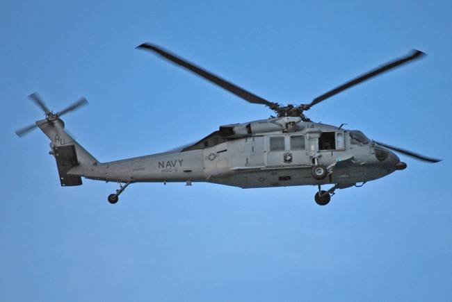 navy helicopter over virginia beach