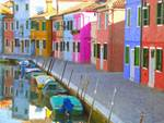 Burano district, Venice, Italy