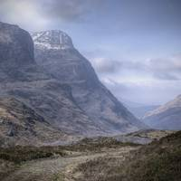 Glencoe - The old road (tweaked and cropped)