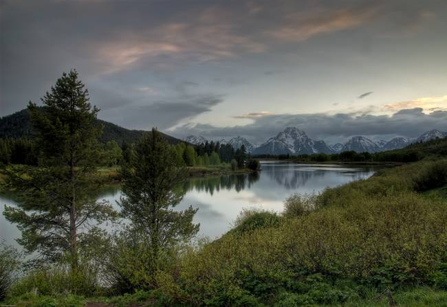 Oxbow Bend - Evening