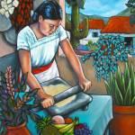 """""""Summer Kitchen"""" by LorrainesArtStudio"""