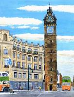 Glasgow Tolbooth Steeple