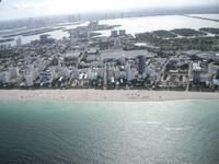 Photos of Miami taken whilst airborne