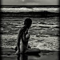 beach view Art Prints & Posters by tara chappel
