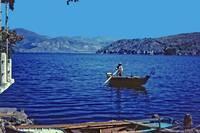 Fishing, Summer 1961, N. Greece by Priscilla Turner
