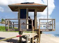 Juno Beach Lifeguard Station