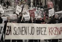 For Fur-Free Slovenia Protest