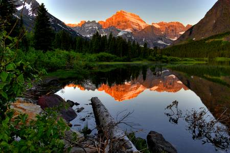 Mount Gould in Morning Light by James Neeley