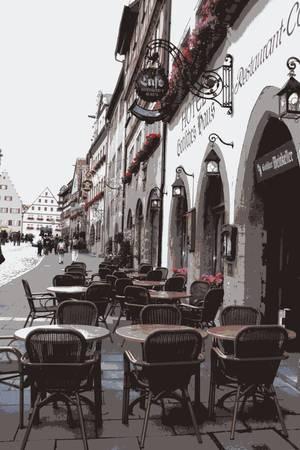 Rothenburg Cafe- Digital