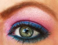 Pink and Blue Super Macro Eye, Mac cosmetics and m