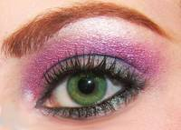 ben nye peacock and cosmic violet eyeshadow mac so