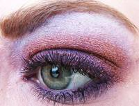 mac rushmetal pigment and hepcat purple mac eyesha
