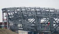 Aquatic Centre roof taking shape