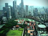 Singapore-from-above_watercolor