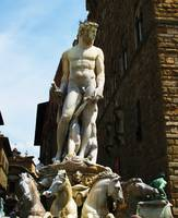Statue of Neptune, Florence, Italy